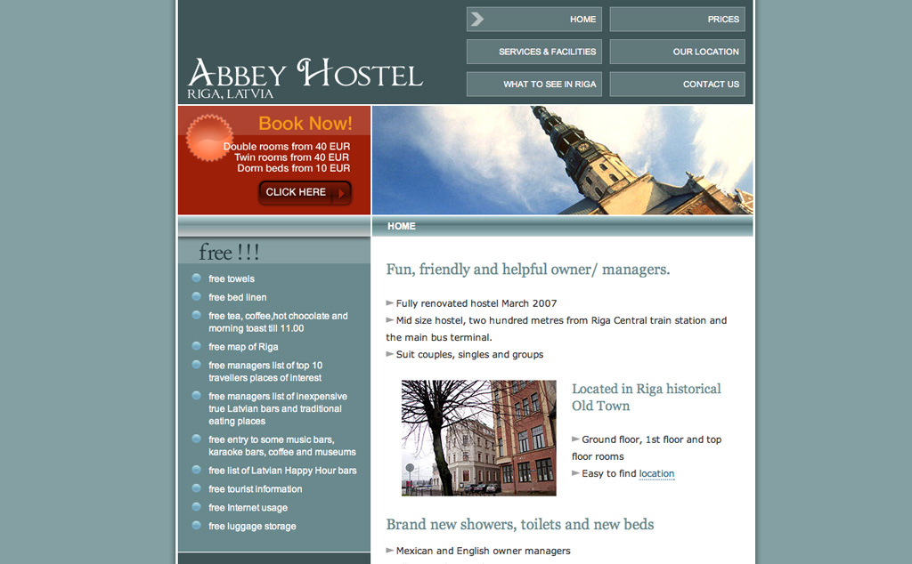Abbey  Hostel
