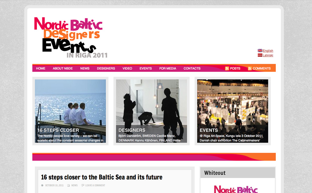 Nordic Baltic Designers Events