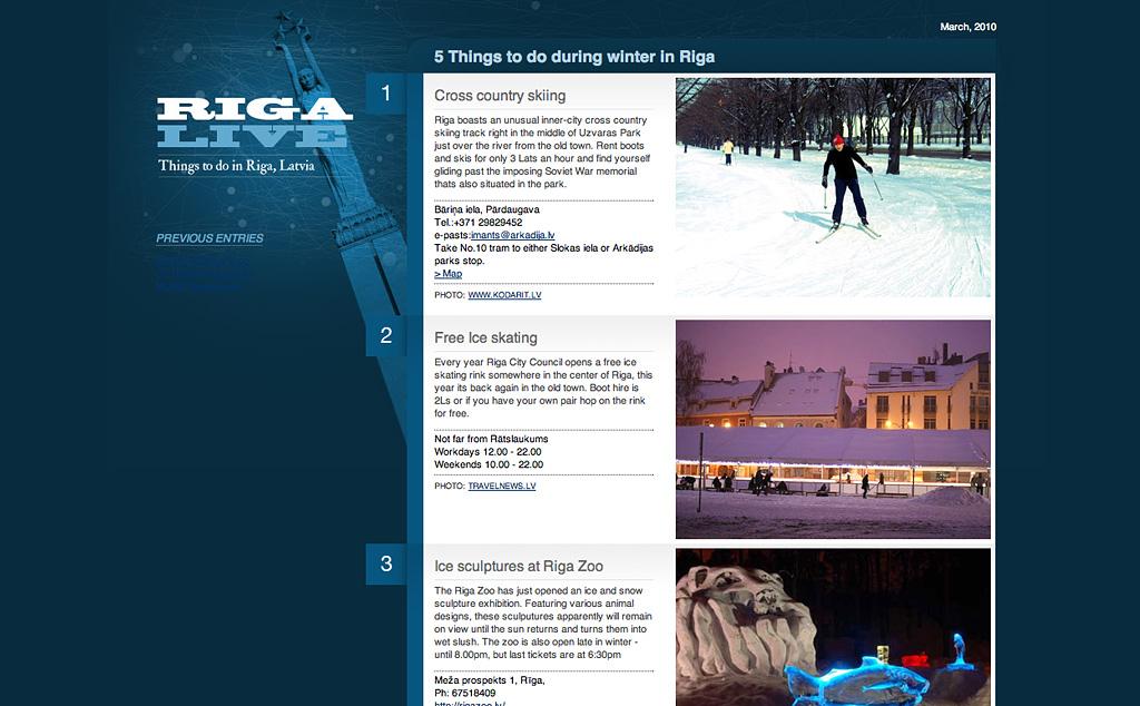 Riga live